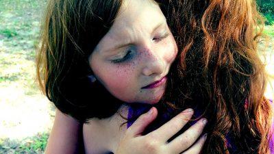 Sad Grief Family Hug Face Comfort Sadness